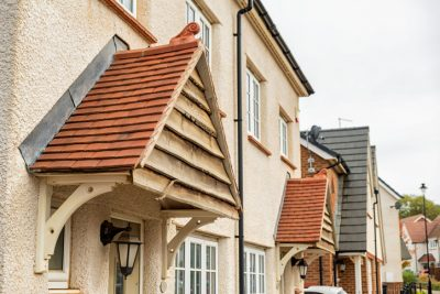 A row of Residential houses, market shows strong momentum